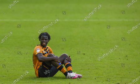 Leo Da Silva Lopes of Hull City looks dejected
