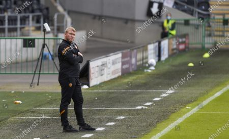 Manager Grant McCann of Hull City