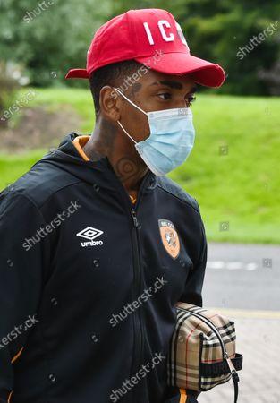 Mallik Wilks of Hull City arrives for the game