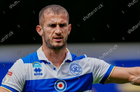 Image libre de droits de Dominic Ball of QPR