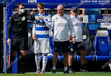 Image éditoriale de Queens Park Rangers v Sheffield Wednesday, Sky Bet Championship, Football, The Kiyan Prince Foundation Stadium, London, UK - 11 Jul 2020