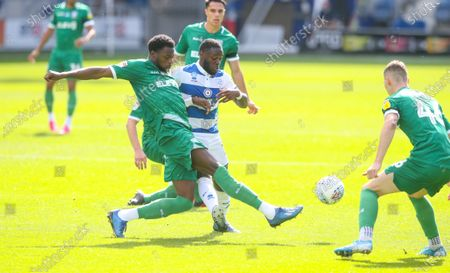 Dominic Iorfa of Sheffield Wednesday & Armamide Oteh of QPR