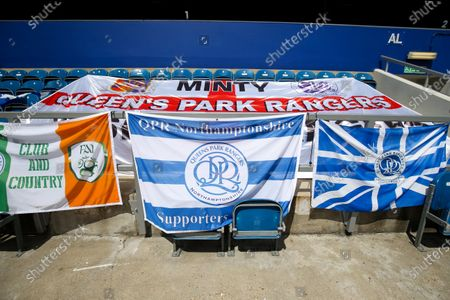 General View of QPR flags on seats