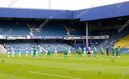 Jack Charlton remembered with a minute's silence