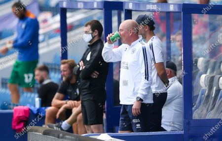 Mark Warburton - Manager of QPR with cup of tea
