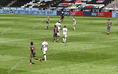 A general view of the action - Sky Bet LEDS