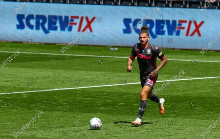Kalvin Phillips of Leeds United - Screwfix led boards