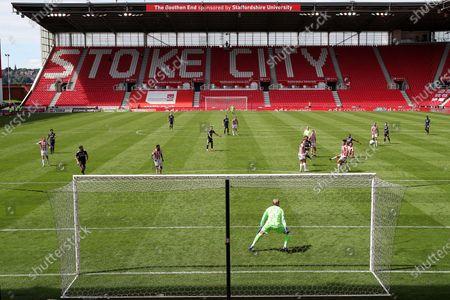 Jeremie Bela of Birmingham City shoots at goal
