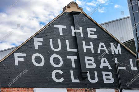 General view outside of the Craven Cottage stadium during the EFL Sky Bet Championship match between Fulham and Cardiff City at Craven Cottage, London