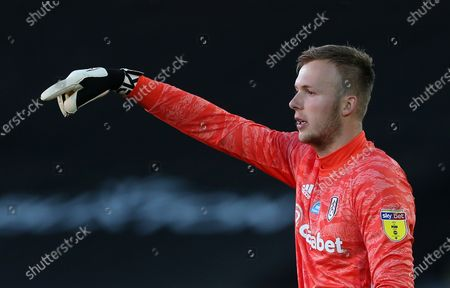 Marek Rodak of Fulham.