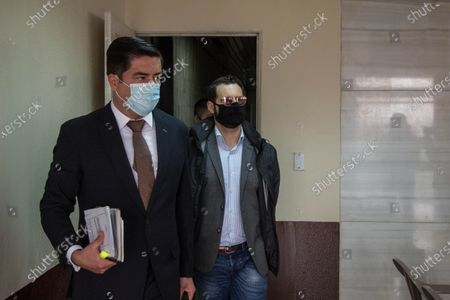 Editorial photo of Son of ex-president of Panama Martinelli attends court after arrest in Guatemala, Guatemala City - 10 Jul 2020