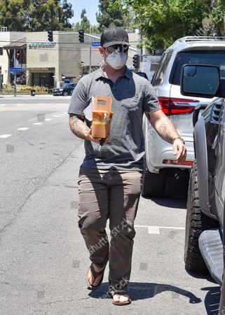 Image éditoriale de Jack Osbourne out and about, Los Angeles, USA - 10 Jul 2020