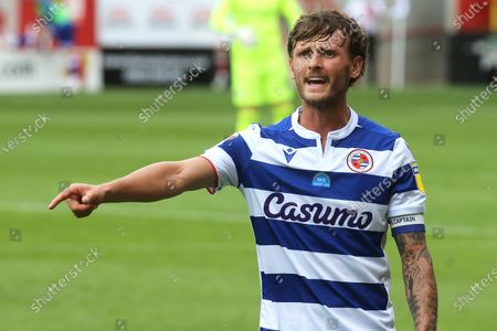 John Swift of Reading, formerly of Chelsea during Charlton Athletic vs Reading, Sky Bet EFL Championship Football at The Valley on 11th July 2020