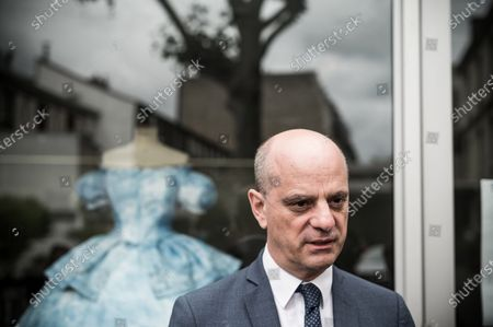 Editorial picture of Jean-Michel Blanquer visit to the Lycee Paul Poiret, Paris, France - 10 Jul 2020