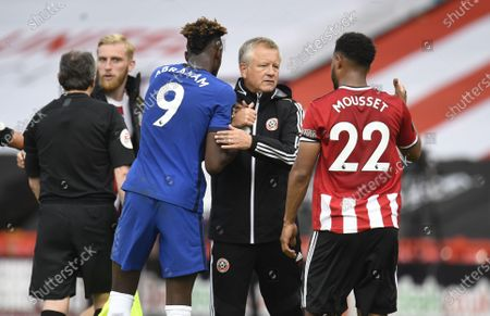 Photo éditoriale de Sheffield United vs Chelsea, United Kingdom - 11 Jul 2020