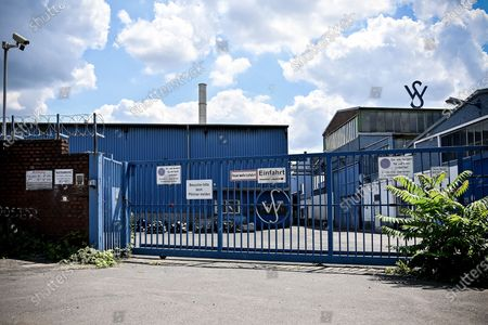 An exterior view of the production facility of precision pipe manufacturer Wilhelm Schulz in Krefeld, Germany, 11 July 2020. Investigators are pursuing charges of fraud against former CEO Wolfgang Schulz and seven other executives for falsifying invoices to boost the value of the company prior to its sale to Precision Castparts (PCC), a subsidiary of US investment giant Berkshire Hathaway. PCC bought the Lower Rhine tube specialist in February 2017 for around 800 million euros. In the meantime, it's suspected that the sellers around Wolfgang Schulz have massively embellished the sales figures for the sale.