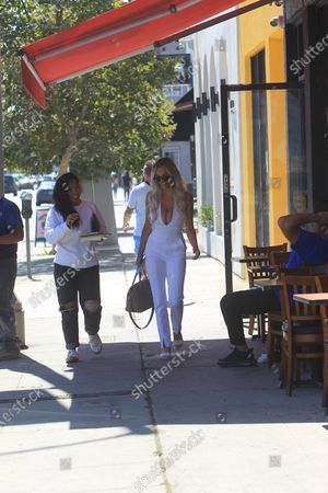 Editorial image of Lindsey Pelas out and about, Los Angeles, USA - 10 Jul 2020