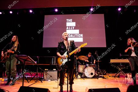 Editorial image of The Ally Coalition presents: The 6th Annual Talent Show, New York, USA - 12 Dec 2019