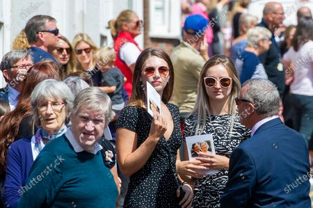 Editorial image of Dame Vera Lynn funeral procession, Ditchling, Sussex, UK - 10 Jul 2020