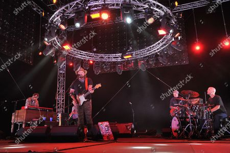 """Randy Houser performs at """"Concerts In Your Car,"""", at the Ventura County Fairgrounds in Ventura, Calif"""