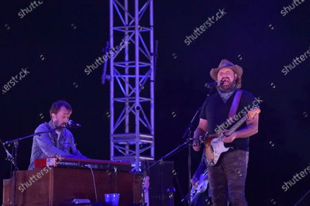 Randy Houser performs at Concerts In Your Car, at the Ventura County Fairgrounds in Ventura, Calif