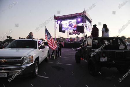 Editorial image of Concerts In Your Car with Randy Houser, Ventura, United States - 11 Jul 2020