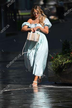 Image libre de droits de Vogue Williams at Global Radio