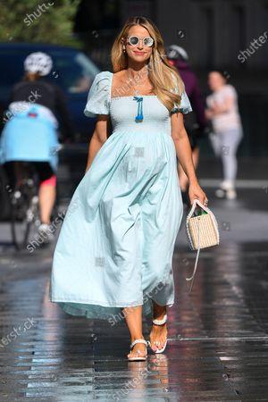 Photo éditoriale de Vogue Williams out and about, London, UK - 12 Jul 2020