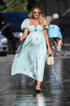 Photo libre de droits de Vogue Williams at Global Radio