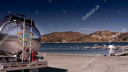 Photo éditoriale de Search for Naya Rivera, Lake Piru, Ventura County, California, USA - 11 Jul 2020