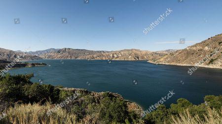Image éditoriale de Search for Naya Rivera, Lake Piru, Ventura County, California, USA - 11 Jul 2020