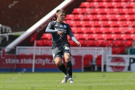 Caolan Boyd-Munce of Birmingham City (44) during the EFL Sky Bet Championship match between Stoke City and Birmingham City at the Bet365 Stadium, Stoke-on-Trent