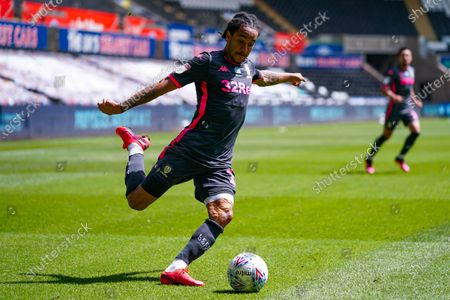 Leeds United forward Helder Costa (17) during the EFL Sky Bet Championship match between Swansea City and Leeds United at the Liberty Stadium, Swansea