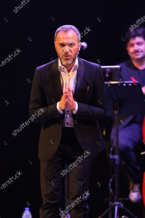 """Stock Photo of Massimiliano Gallo during the show titled """"Resilienza 2.0"""""""