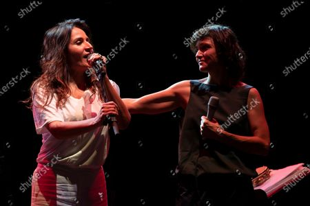"The duo Petra Magoni and Ferruccio Spinelli. The performance went from Pop/Rock music classics such as Roxanne of the Police to lyrical areas such as ""Nessun dorma"" by Giacomo Puccini. Guest of the duo the singer Chiara Civello."