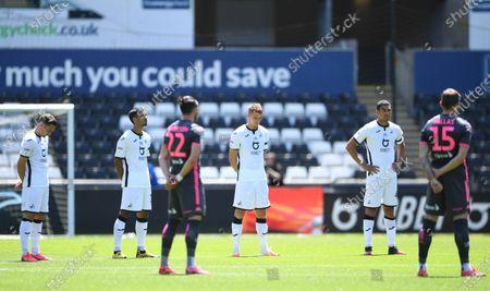 Photo éditoriale de Swansea City v Leeds United - EFL SkyBet Championship - 12 Jul 2020
