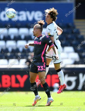 Image éditoriale de Swansea City v Leeds United - EFL SkyBet Championship - 12 Jul 2020