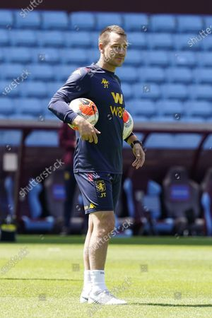 Aston Villa's assistant manager John Terry ahead of the English Premier League soccer match between Aston Villa and Crystal Palace in Birmingham, Britain, 12 July 2020.