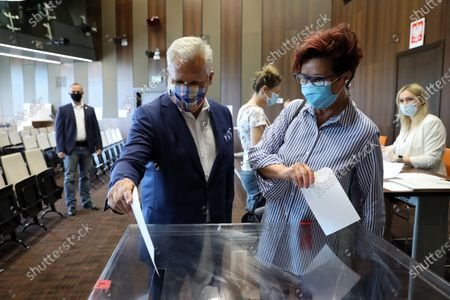 Editorial photo of Presidential elections in Poland, Warsaw - 12 Jul 2020