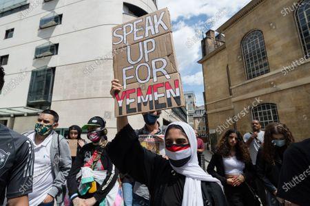 March Against War in Yemen, London