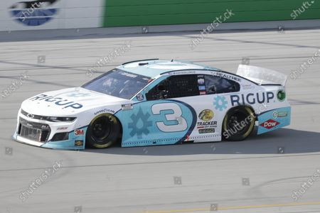 Austin Dillon (3) drives during a NASCAR Cup Series auto race, in Sparta, Ky