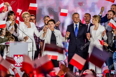 Editorial picture of Presidential Election, Pultusk, Poland - 12 Jul 2020
