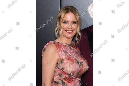 "Stock Image of Kelly Preston attends the premiere of ""Gotti"" at the SVA Theatre in New York. Preston, whose credits included the films ""Twins"" and ""Jerry Maguire,"" died, her husband John Travolta said. She was 57"