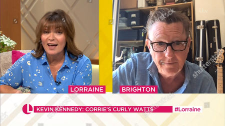 Stock Picture of Lorraine Kelly, Kevin Kennedy