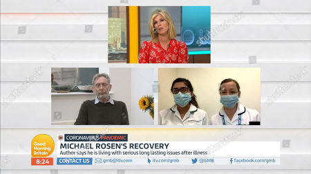 Kate Garraway, Michael Rosen, Nurses