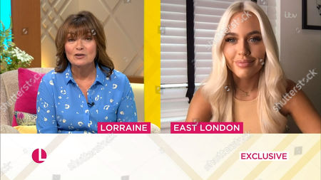 Stock Image of Lorraine Kelly, Lottie Tomlinson