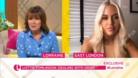 Stock Photo of Lorraine Kelly, Lottie Tomlinson