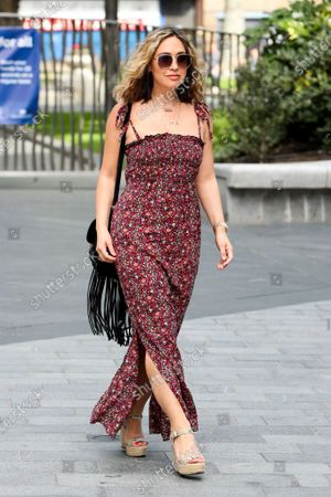 Image éditoriale de Myleene Klass out and about, London, UK - 13 July 2020