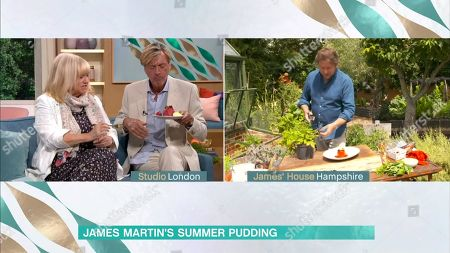 Judy Finnigan, Richard Madeley, James Martin