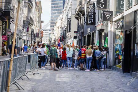 Camaieu employee protest, Brussels